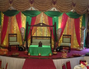 roshnee mehndi stages